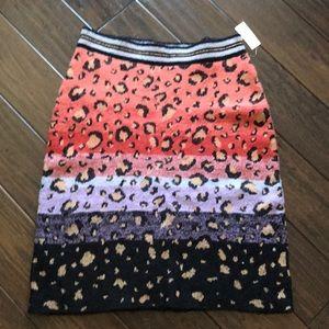Anthropology Sweater Midi Skirt